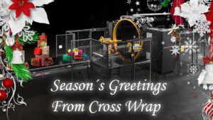 Cross Wrap Christmas card 2020